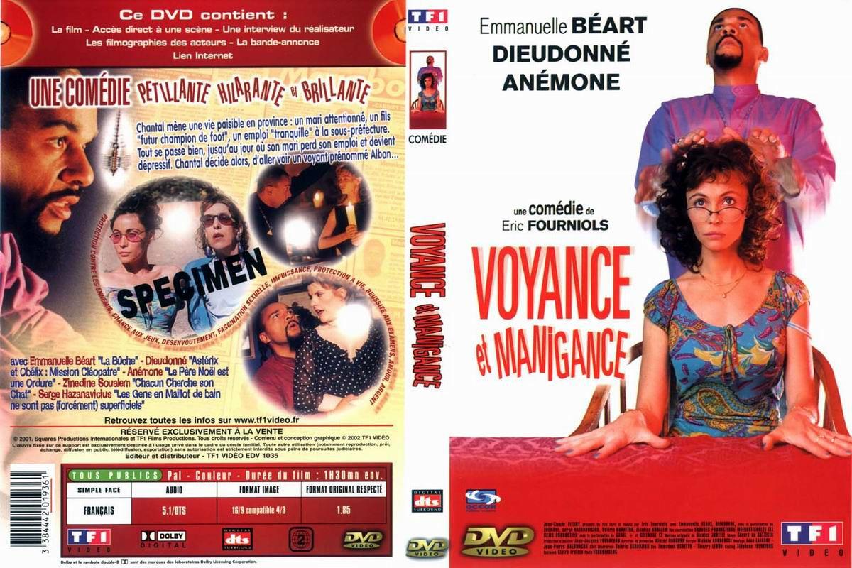 Jaquette DVD Voyance et Manigance
